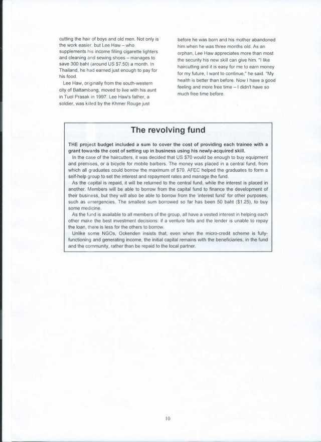 AFEC case study